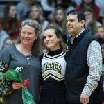 Cheer - Basketball Senior Recognition