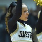 Cheer - Jasper vs Barr-Reeve (Boys Basketball)