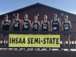 Boys Varsity Cross Country finishes 5th place at IHSAA Semi State @ Brown County