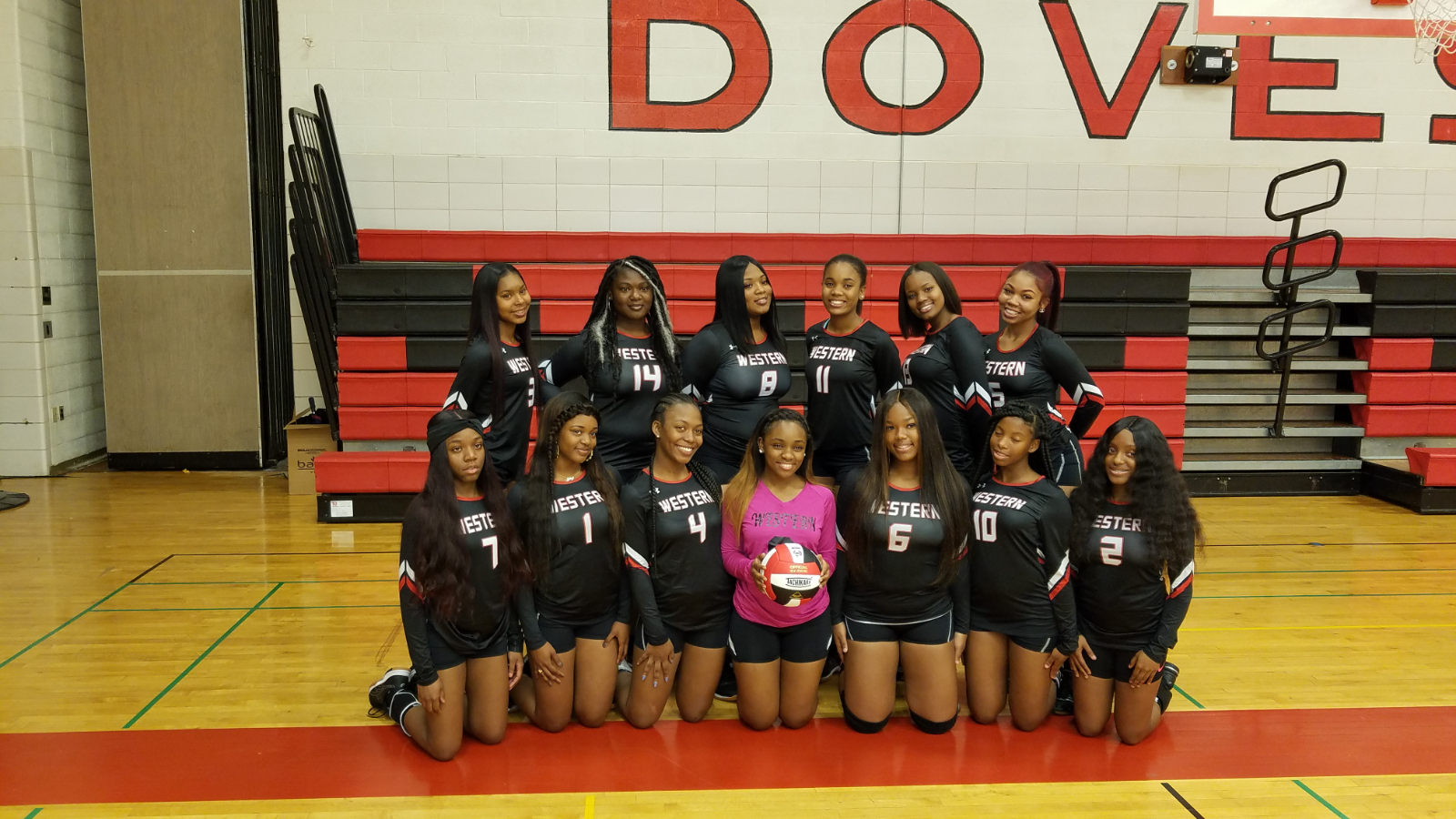 Varsity Volleyball Falls Short in City Championship Contest