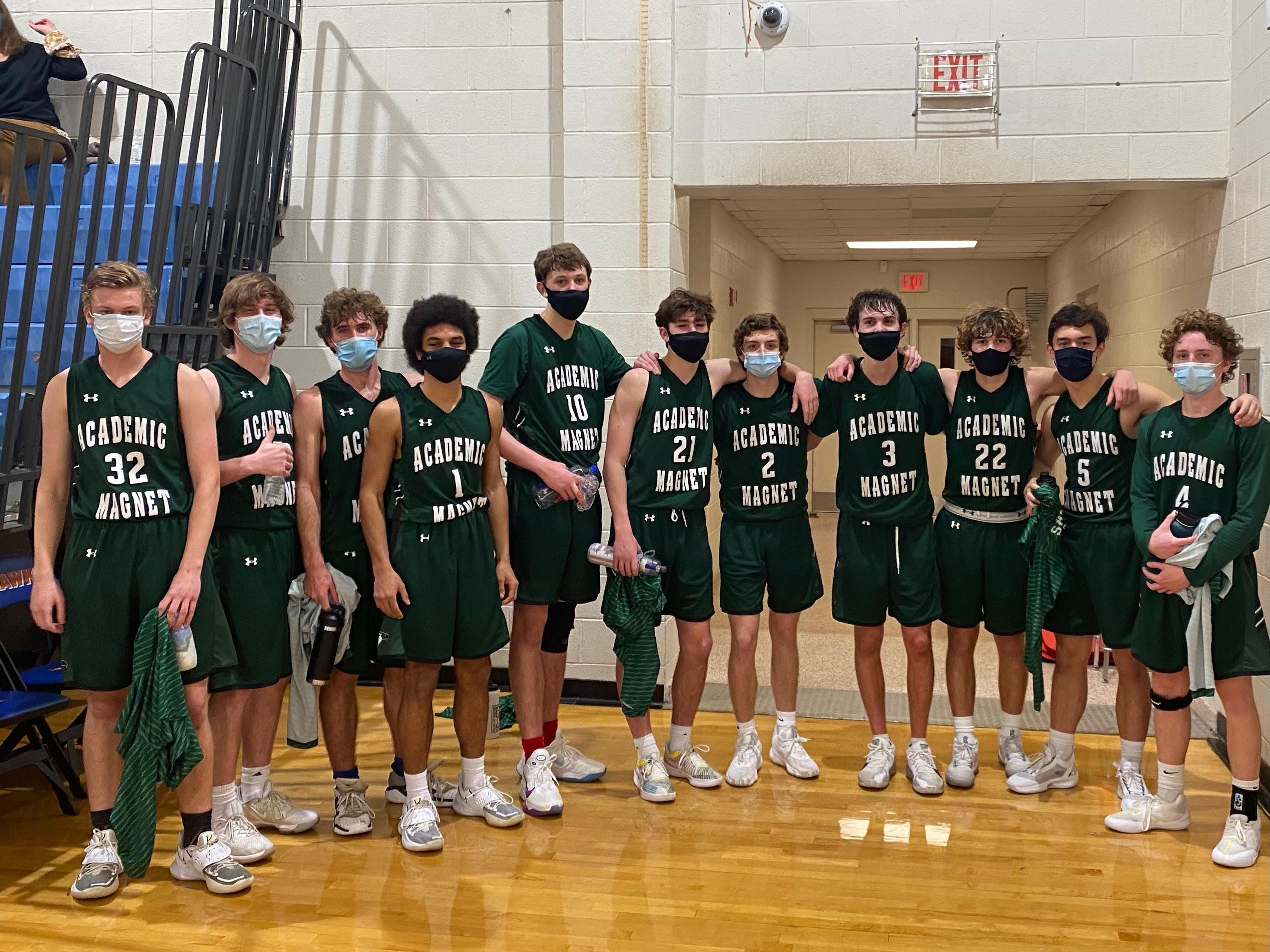 Boys Varsity Basketball 2020-21