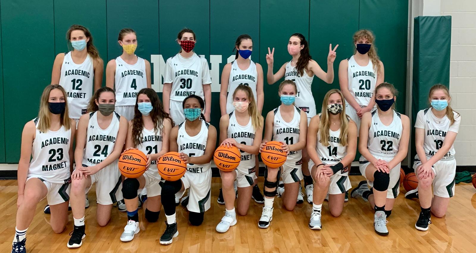 Girls Varsity Basketball 2020-21