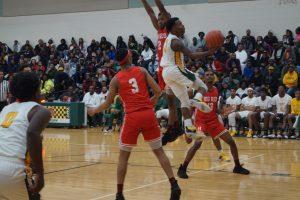 Boys Varsity Basketball v Hughes