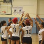 Varsity Girls Volleyball Fall 18