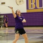 Badminton finishes first in singles and doubles in weekend tourney