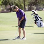 Boys golf earns win over Combs and Desert Ridge