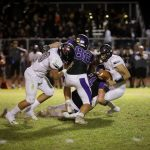 Football makes 4th quarter comeback, falls late in state playoff game