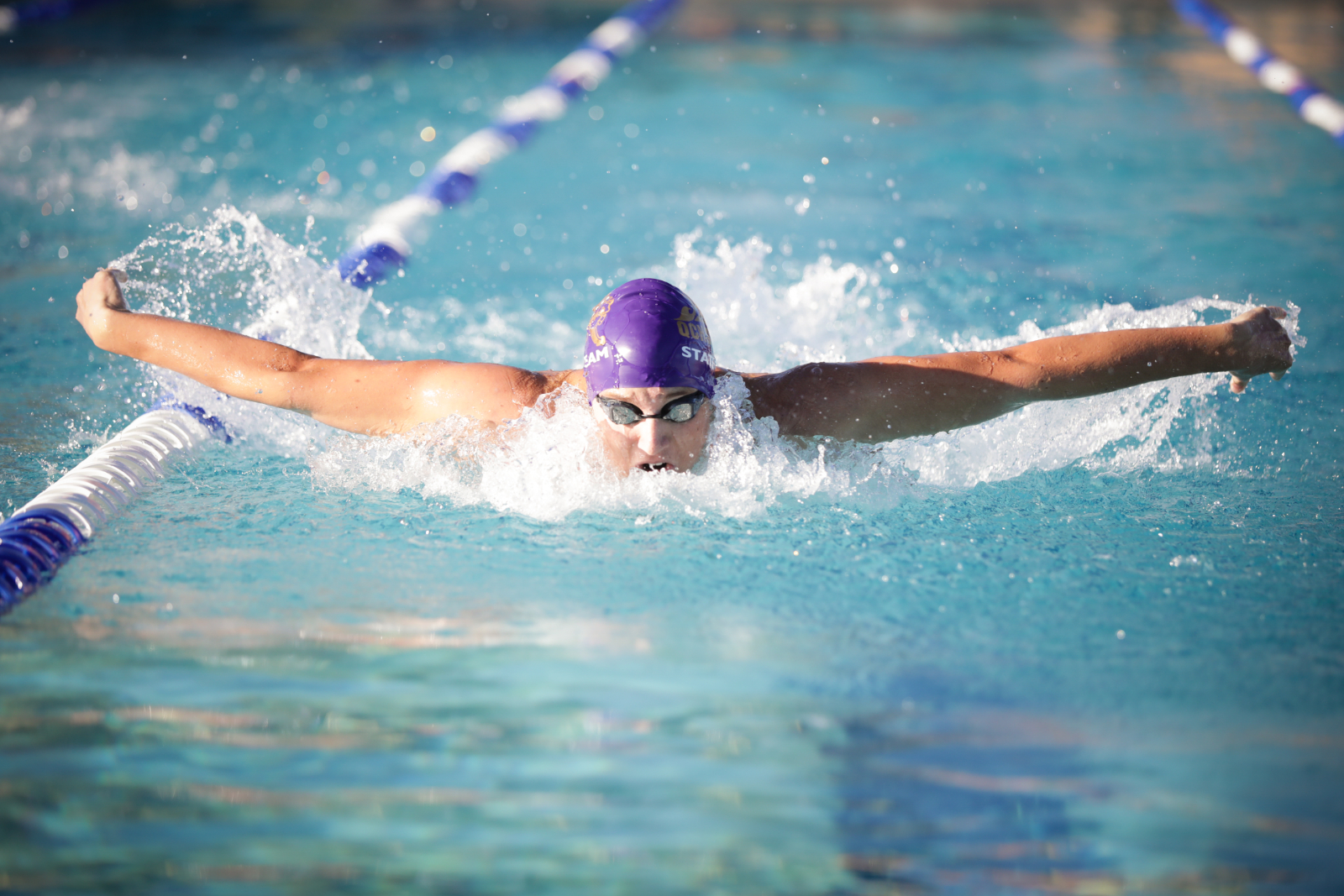 Swim ends its dual schedule on high note