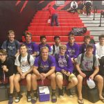 Wrestling competes in Liberty Duals