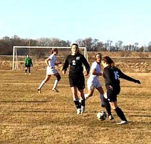 JV girls soccer