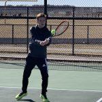 Boys Varsity Tennis Falls Short Against Hampshire