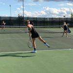 Girls Varsity Tennis Defeats McHenry 6 – 1