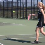 Girls Junior Varsity Tennis beats Wauconda 5 – 2