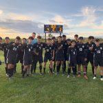Boys Varsity Soccer beats Harlem 4 – 2