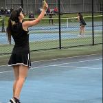 Girls Junior Varsity Tennis beats Woodstock 5 – 2