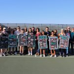 Girls Varsity Tennis outlasts Sycamore 4 – 3 on SENIOR NIGHT!!!