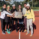 Girls Varsity Tennis takes 1st place at IHSA Sectional!!!