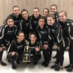 Coed Varsity Dance finishes 3rd place at CLC Dance Contest
