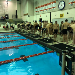 Boys Varsity Swimming beats Byron 118 – 47
