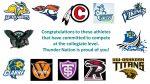 Senior Athletes Commit to Collegiate Athletics
