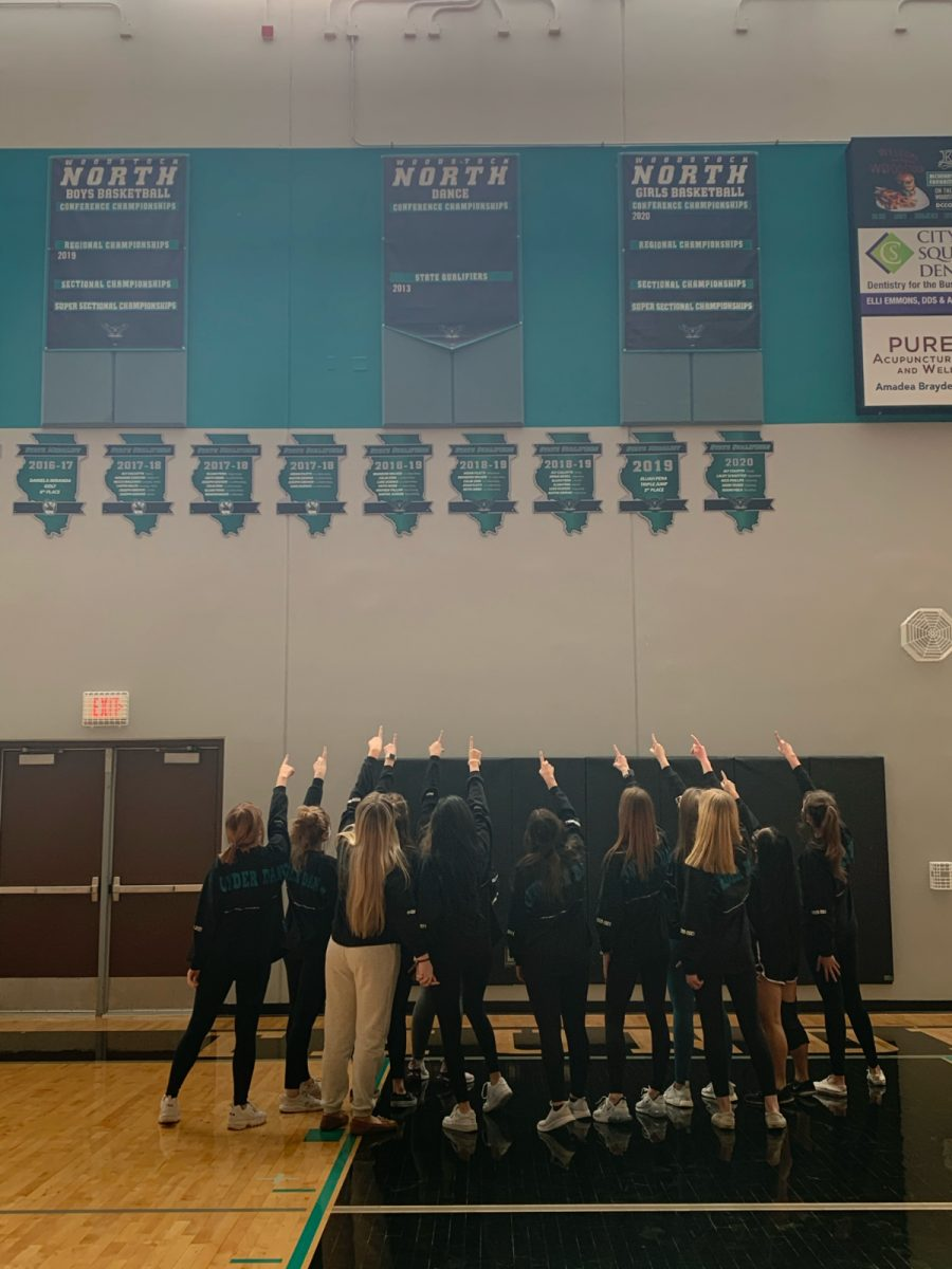WNHS Dance Team is Heading to State