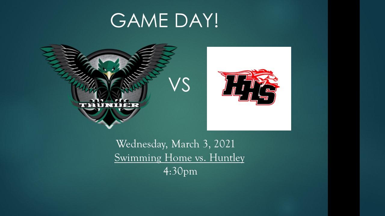 Swimming vs. Huntley 3/3/21 Livestream