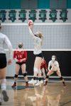 Girls Varsity Volleyball beats Marengo 2 – 0