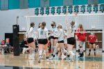 Girls Varsity Volleyball beats Marengo 2 – 1