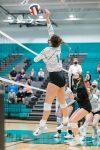Girls Varsity Volleyball falls to Huntley 2 – 0