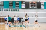 Varsity Volleyball Locks Up KRC Title with 2-0 Win Over Woodstock