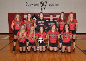 Newton Indians JH Volleyball