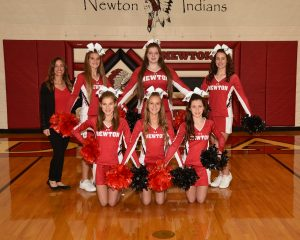 Newton Indians JH Cheer