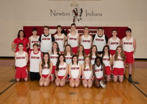 Newton Indians JH Track