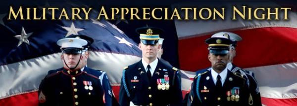 Military Appreciation Night @ Newton!!