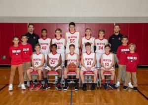 Newton Indians JH Boys' Basketball