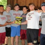 Gladiator Football Gives Back At Autrey Mill Nature Preserve Service Day