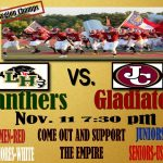 """Gladiator Army declares """"America"""" theme for football playoff game!"""
