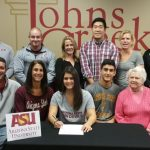 Kelly Harkin signs to play lacrosse at Arizona State University
