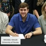 Michael Taylor signs with the University of Florida