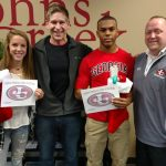 Matthew Taylor & Madigan Wallace named Johns Creek Longhorn Athletes of the Month!