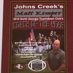 KEMPER AWARDED COACH OF THE YEAR