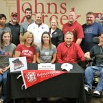 Erica Dorn signs with Belmont Abbey College to play tennis