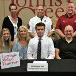 Benjamin Ash signs to play tennis at Carnegie Mellon University