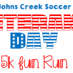 1st Annual Johns Creek Soccer Veteran's Day 5K