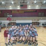 Johns Creek vs Alpharetta in GHSA Volleyball Final 4