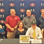 Zach Hall signs with Birmingham Southern College