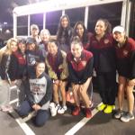 Girls Varsity Tennis beats Pope 4 – 1