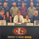 Zach Wyborn signs to play soccer at Shorter University