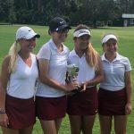 Lady Gladiators finish 2nd at 6A State Golf Championships