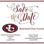 Basketball Cheer Tryouts – Save the Date